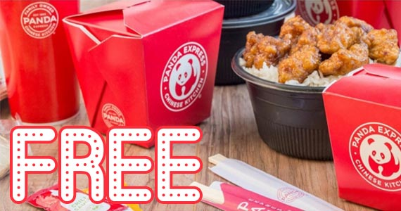 Free Orange Chicken at Panda Express