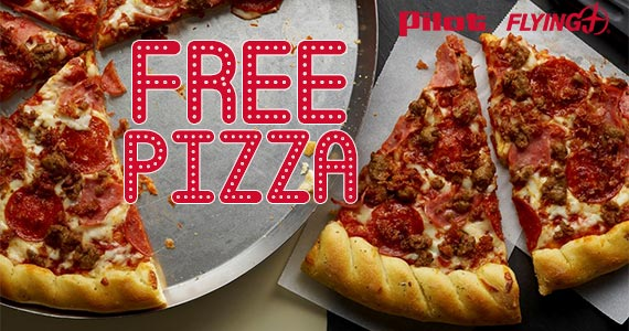 FREE Pizza Slice at Pilot Flying J