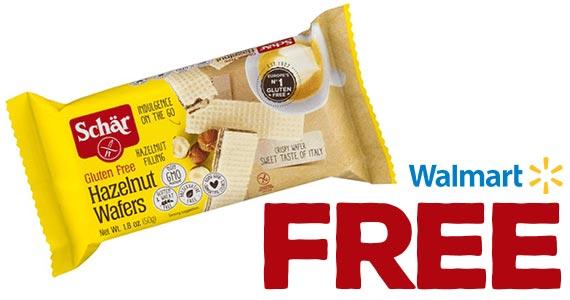 Free Schar Gluten-Free Wafer at Walmart