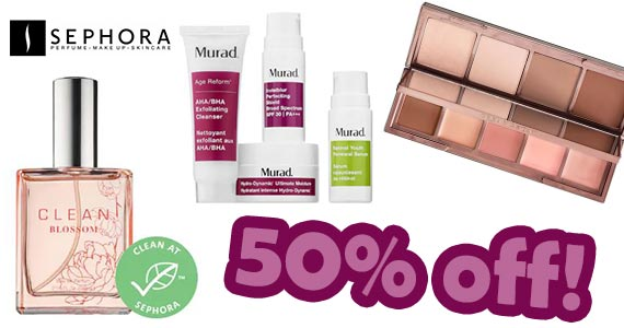 Sephora 50% Off Items – Weekly Wow