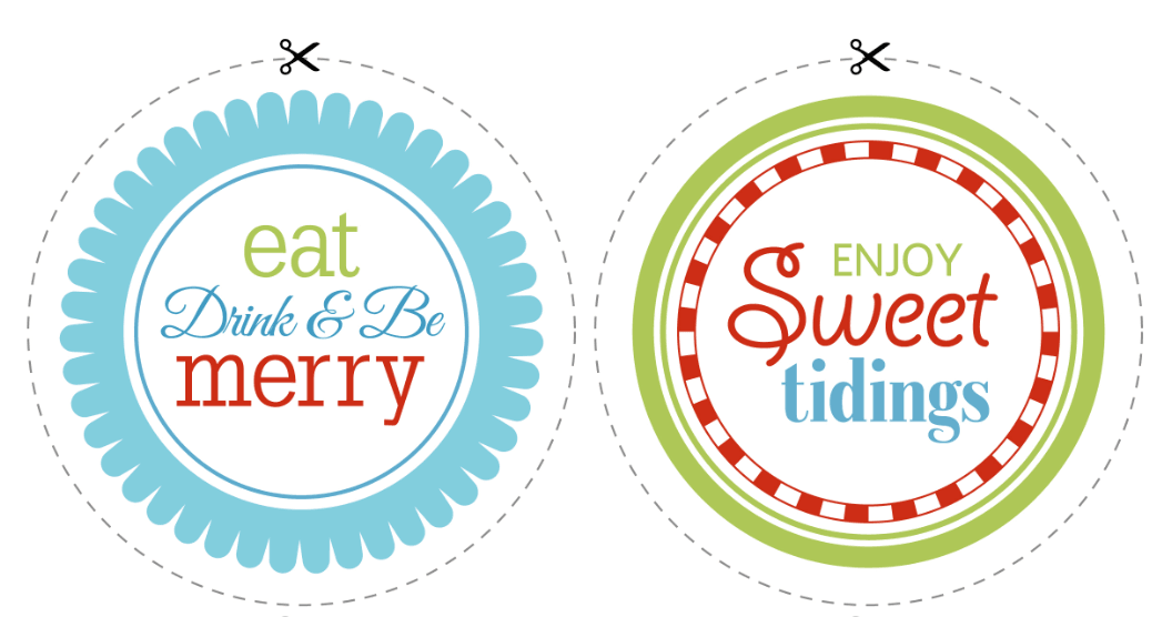 Christmas Candy Bar Labels
