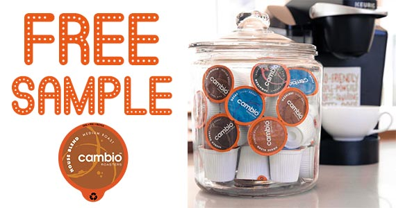 Free Sample of Cambio Coffee K-Cups