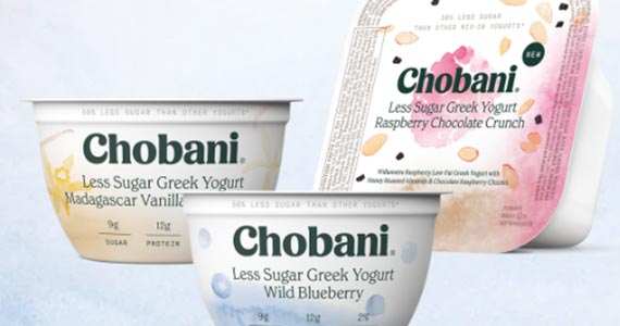 Kroger FREE Friday – Chobani Less Sugar Crunch Yogurt