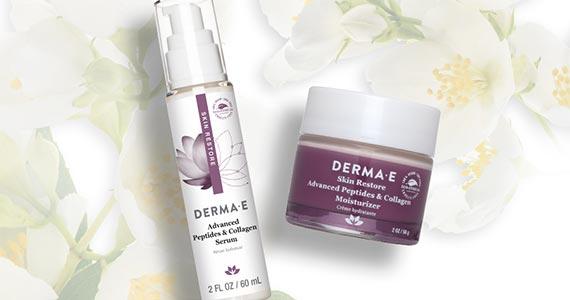 Free Derma-E Serum and Moisturizer