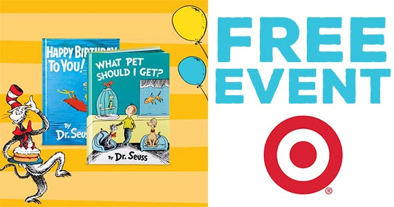 Free Dr. Seuss Event at Target (March 2nd)