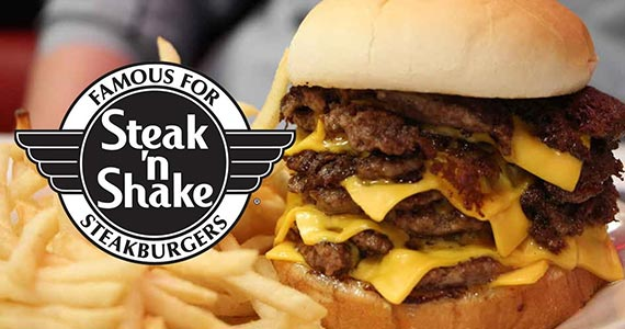 Free $2.99 Steak 'n Shake Credit