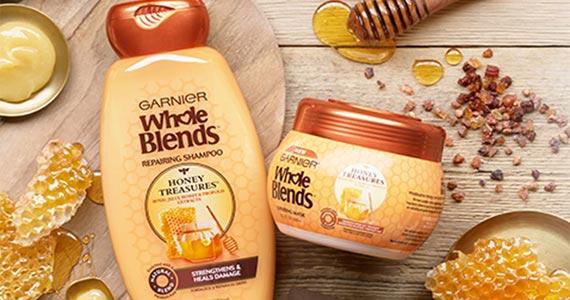 Free Sample of Garnier Honey Treasures