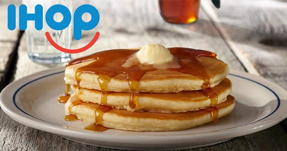 Free Short Stack of Pancakes From IHOP (March 12th)