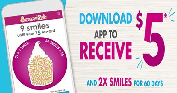 Free $5 Menchie's Frozen Yogurt Reward