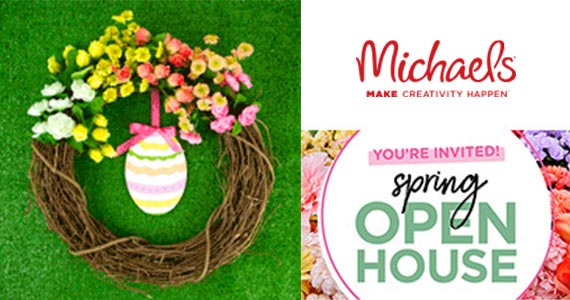 Michael's Free Craft Event March 9th
