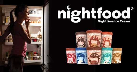 BOGO Free Pint of Nightfood Ice Cream