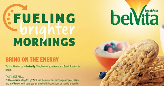Win Instantly With belVita