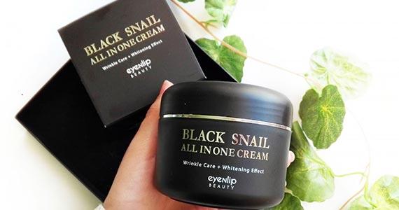 Free Sample of Black Snail Cream