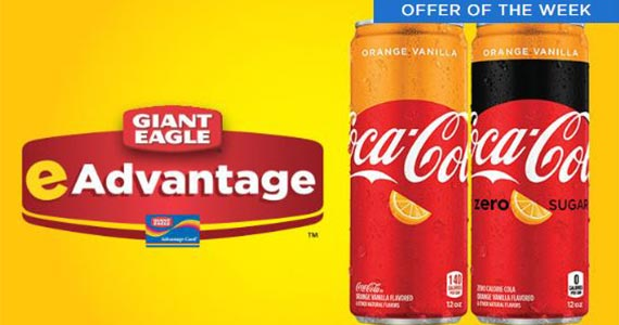 Free Coke Orange Vanilla