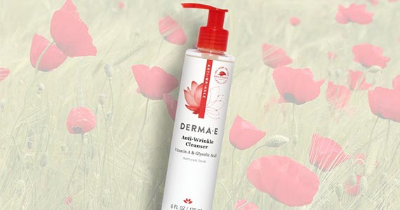 Free Sample of Derma E Anti-Wrinkle Cleanser