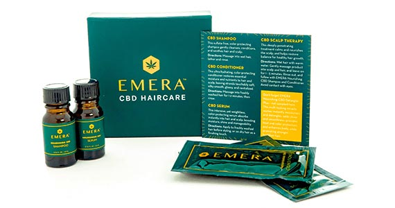 Free Emera CBD Haircare Sample Pack