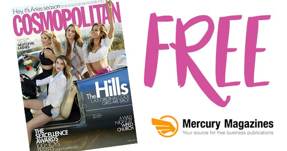 Free 1-Year Cosmopolitan Subscription