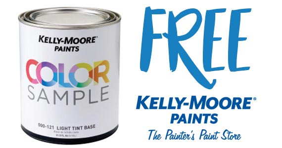 Free Quart of Paint From Kelly-Moore