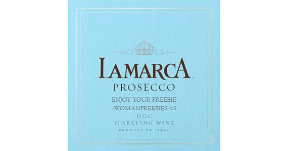 Free Lamarca Prosecco Bottle Labels