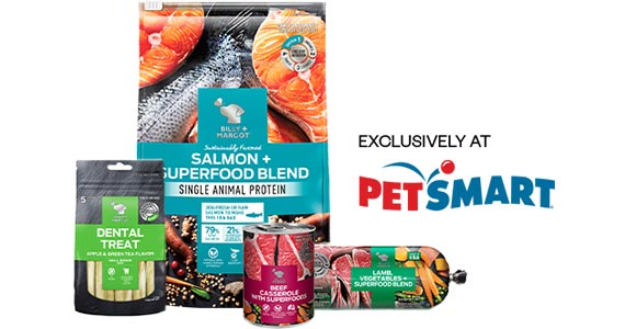 Free Billy + Margot Pet Food Roll & $5 Coupon