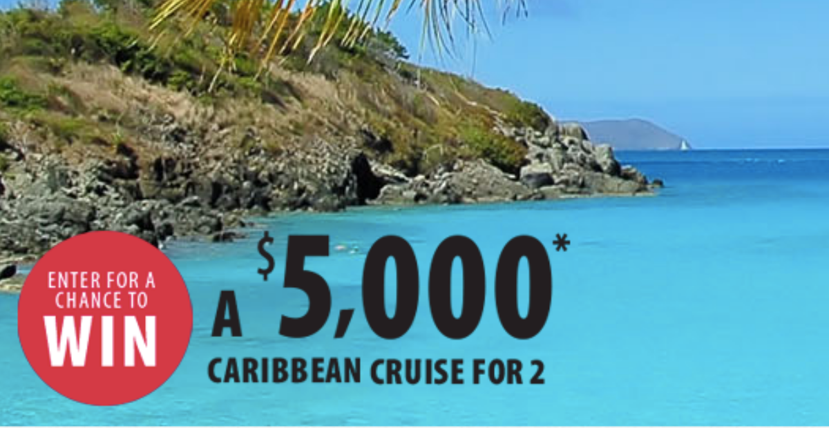 Win a $5000 Caribbean Cruise for 2