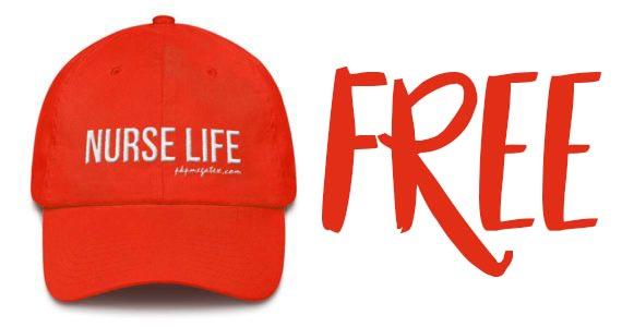 Free Nurse Life Hat