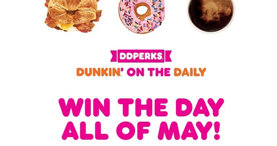 Win Great Prizes From Dunkin' Donuts