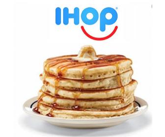 IHOP: Free Buttermilk Pancakes