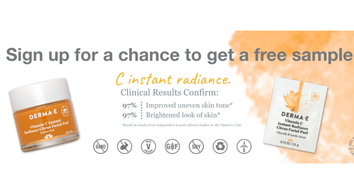 Derma-e Facial Peel Free Sample