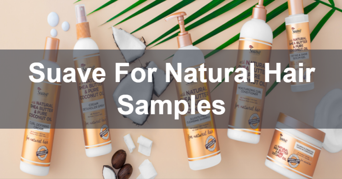 Free Sample of Suave for Hair