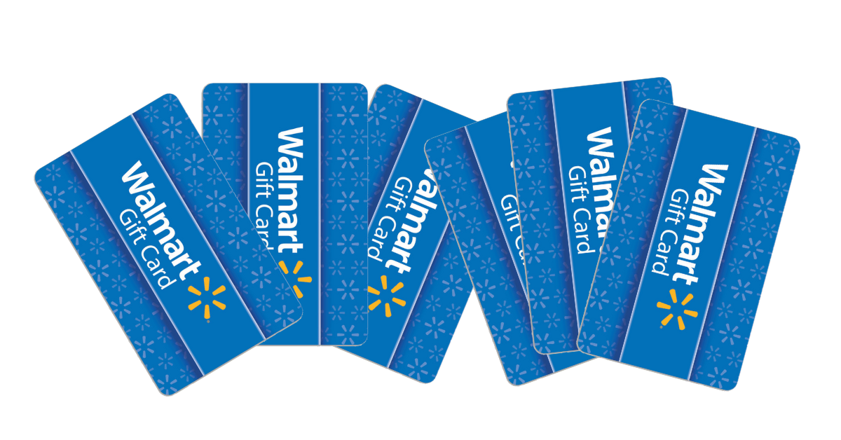 Win Walmart Gift Cards