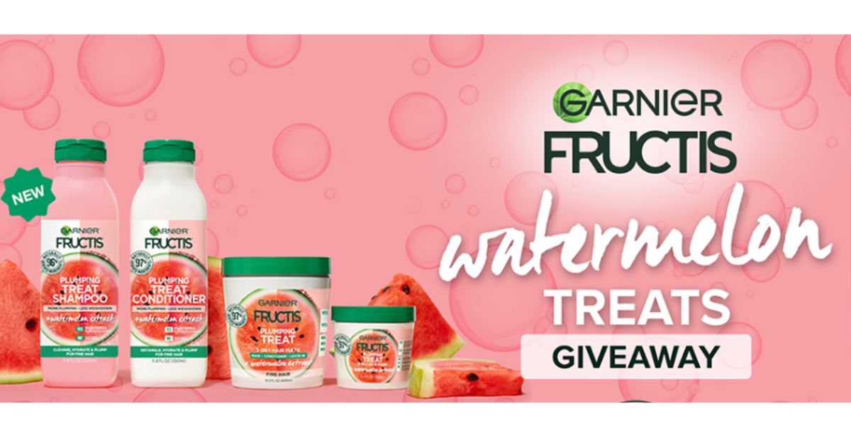 Win a Watermelon Treats Prize Pack from Garnier