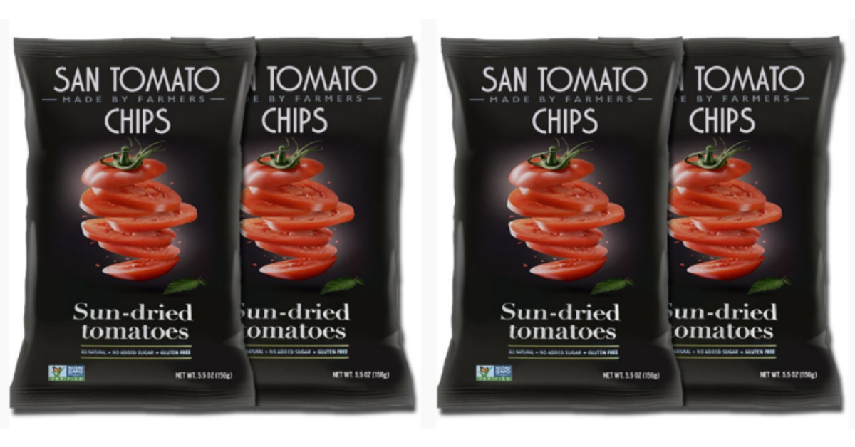 Request A Free Sample Of Sun-Dried Tomato Chips