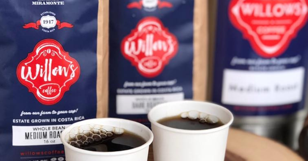 Get A Free Willows Coffee Sample