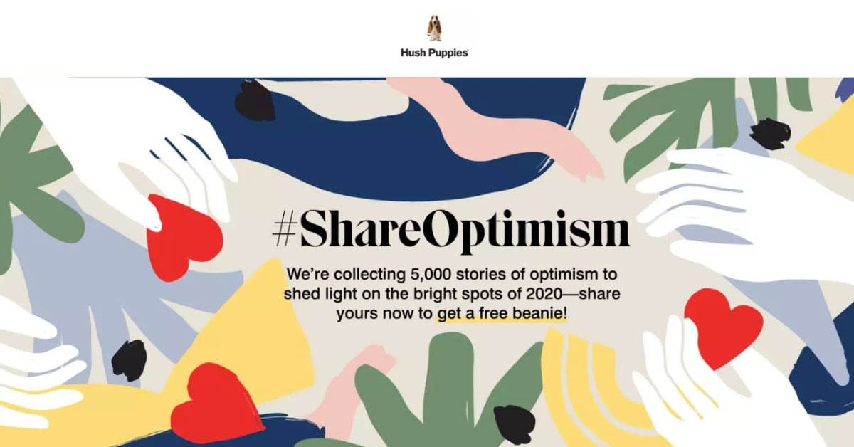 Hush Puppies #ShareOptimism Contest