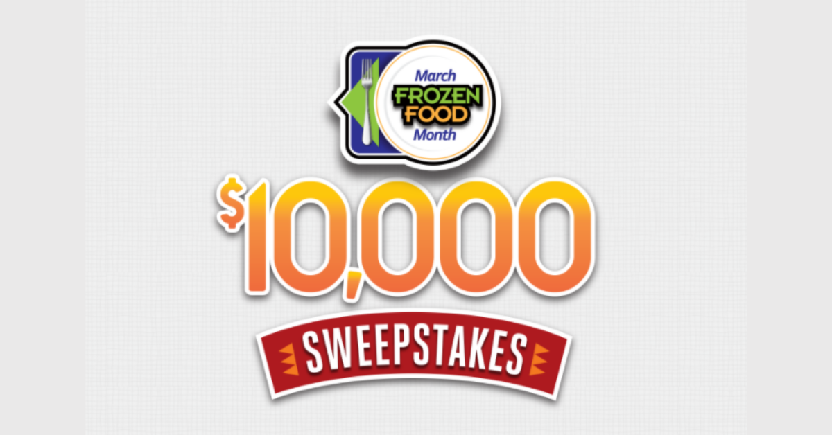Win $1000 from National Frozen & Refrigerated Foods Association