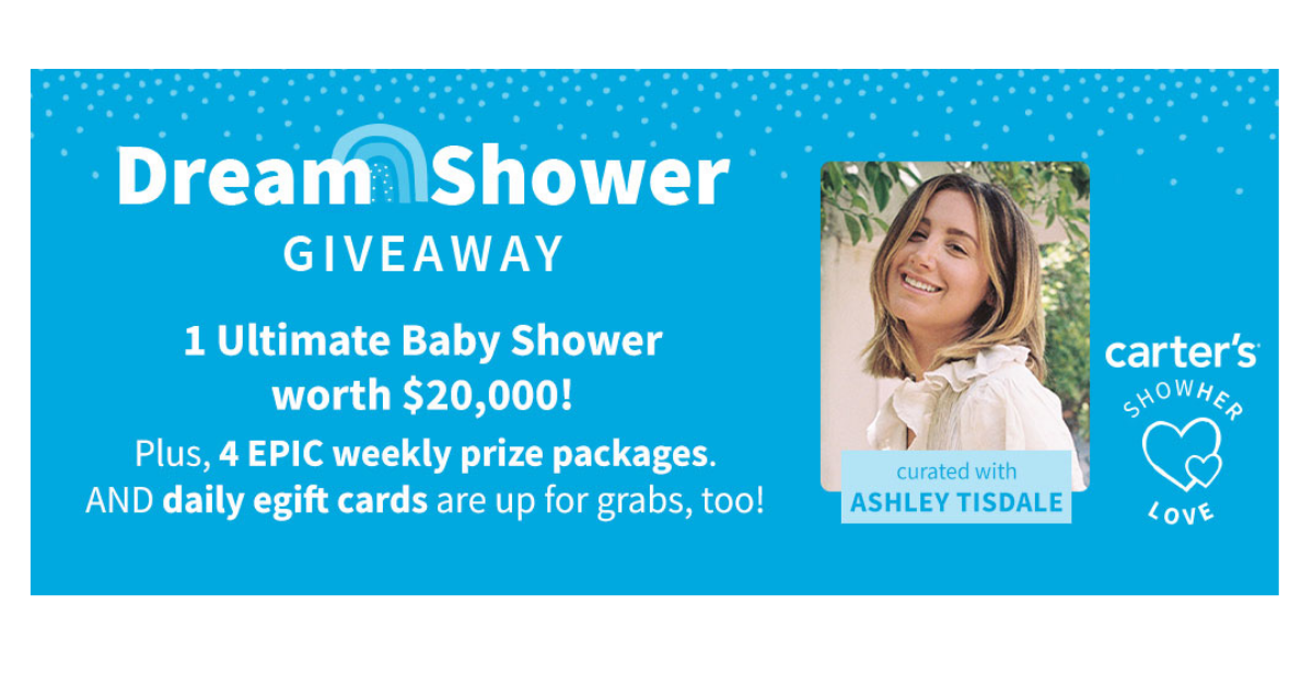 Win a $20,000 Baby shower from Carter's