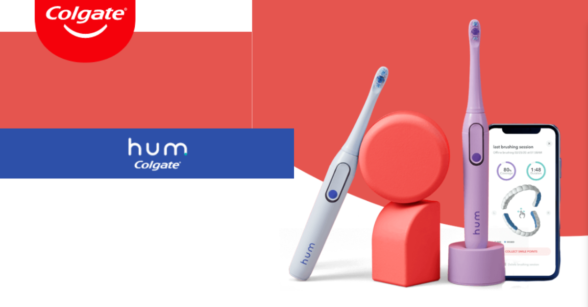 Win a Colgate Hum toothbrush