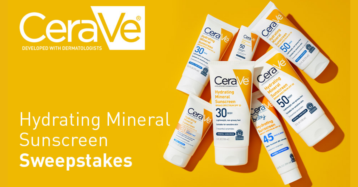 Win a Sunscreen Bundle from CeraVe