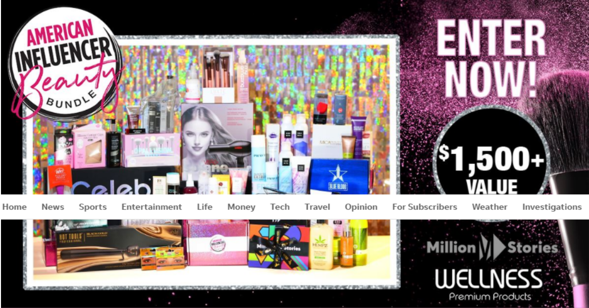 Win a Beauty Bundle from USAToday