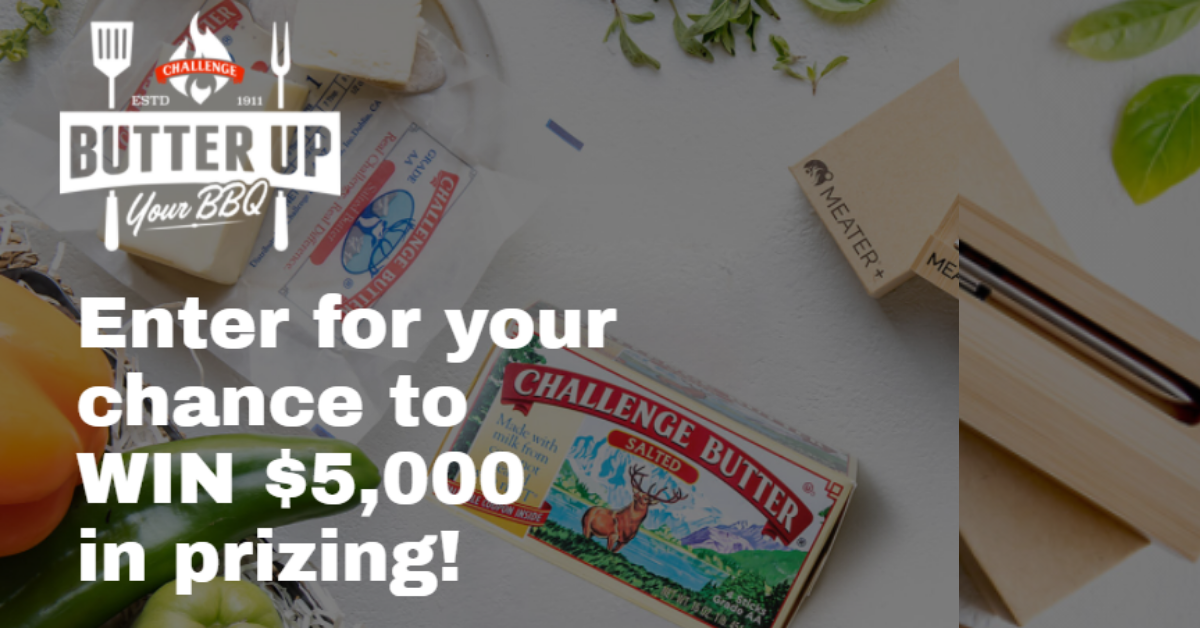 Win $3,500 from Butter Up your BBQ