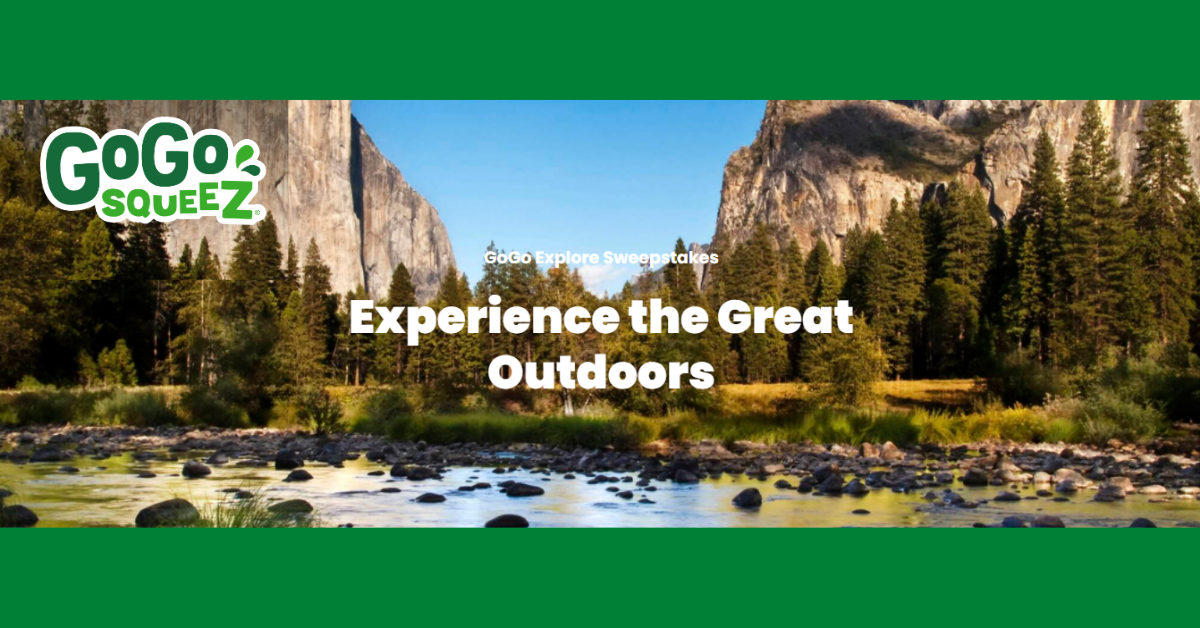 Win a Trip to a National Park from GoGo SqueeZ