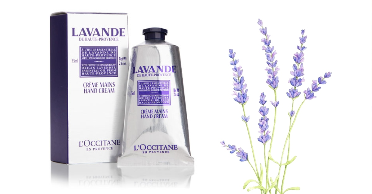Free L'Occitane Lavender Hand Cream Sample!