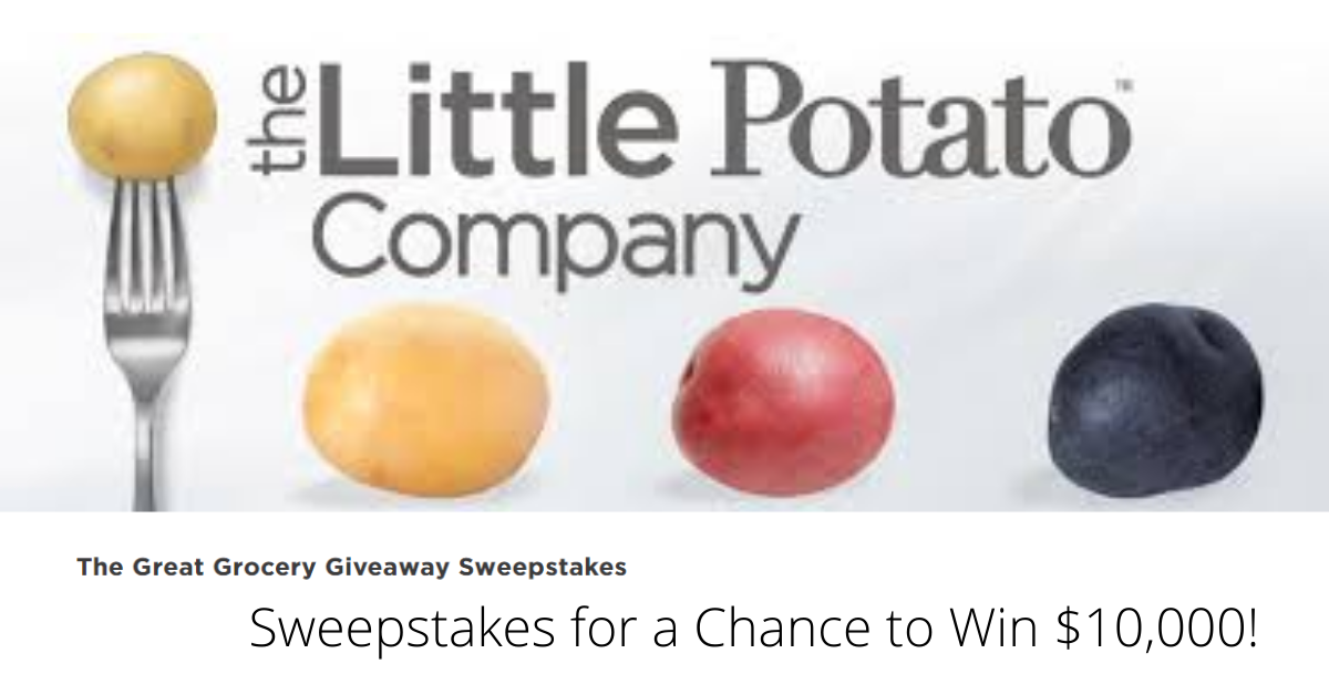 Win $10,000 in Cash from Little Potato Company