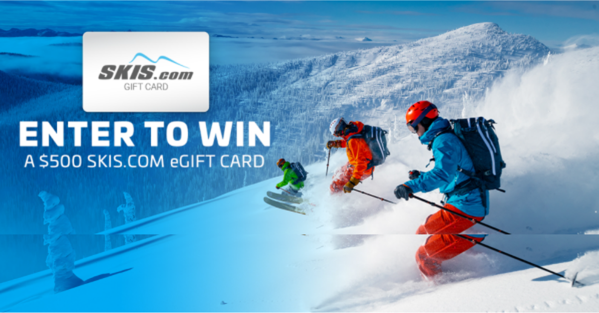 Win a $500 Gift Card from Skis