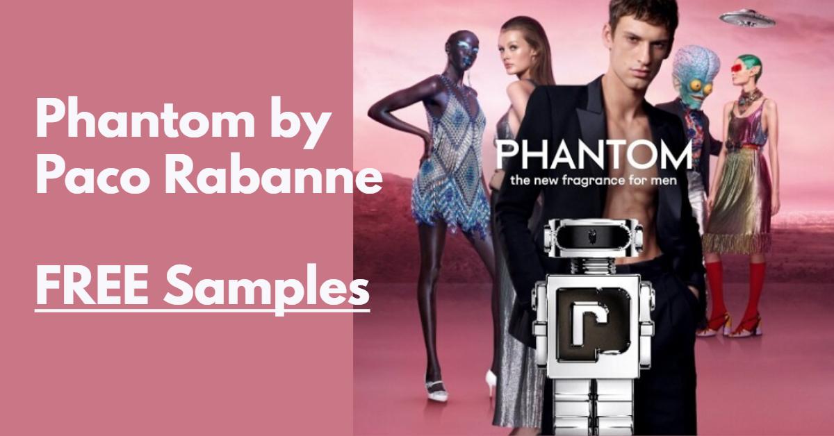 FREE Sample of Paco Rabanne Phantom Fragrance