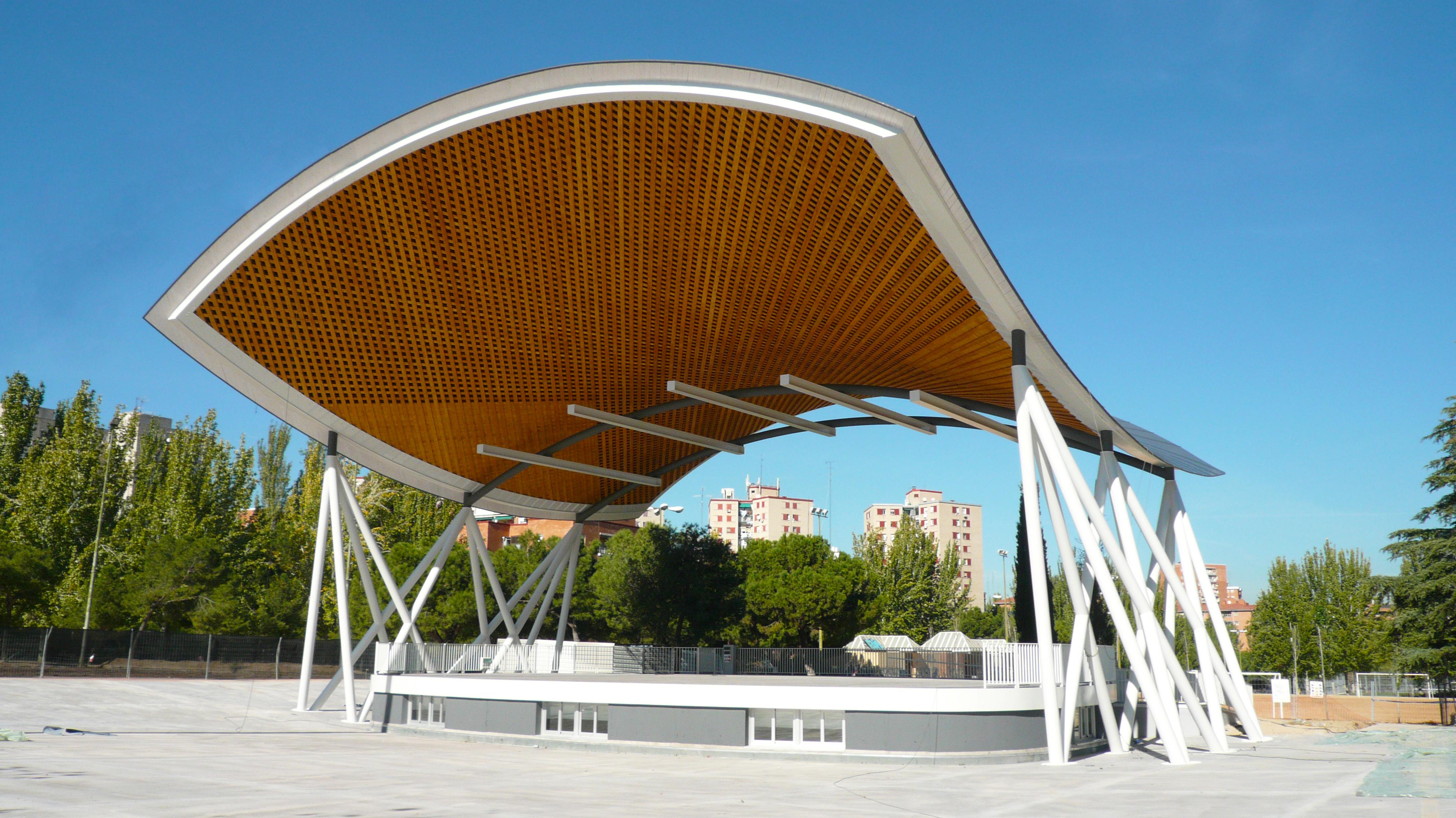 Auditorio en el Parque Arias Navarro