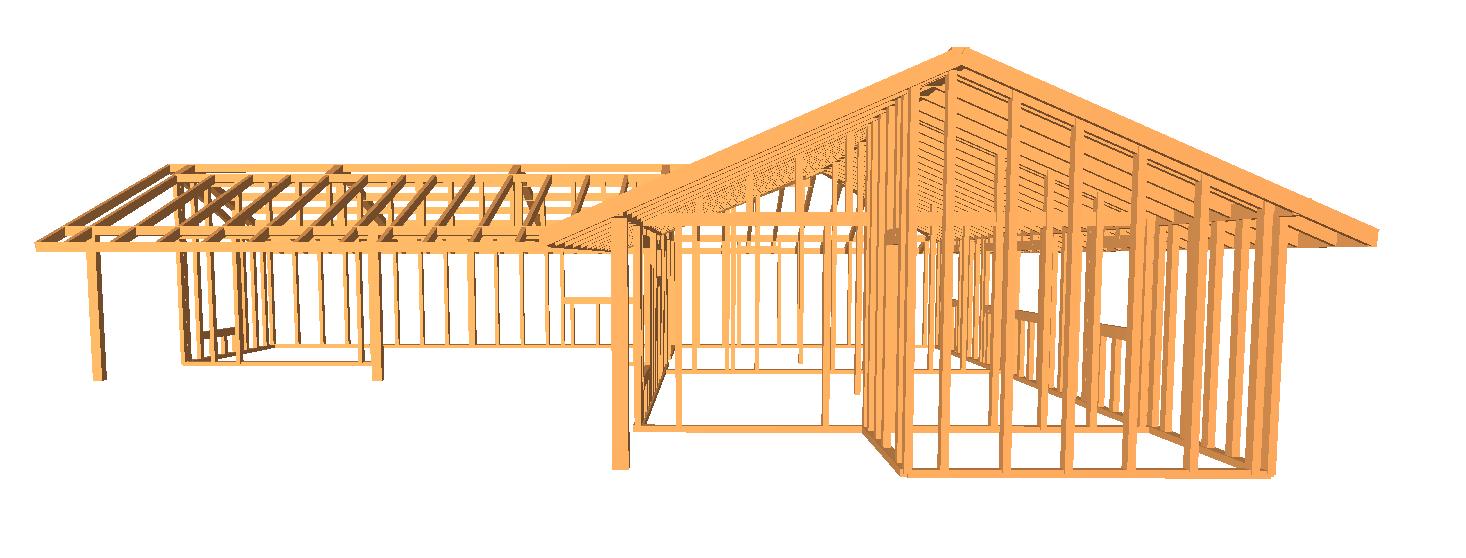 Estructura de madera Sinergia TRAM