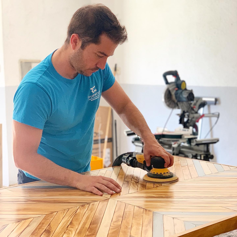 Pura madera natural