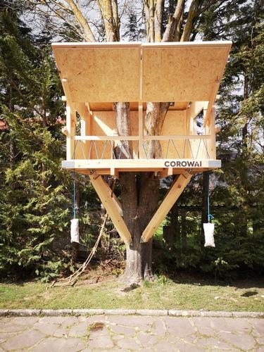 Cabaña para árbol Etxola